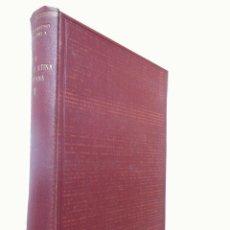 Libros de segunda mano: LA VETUS LATINA HISPANA. 1953 TEOFILO AYUSO MARAZUELA. PREMIO FRANCISCO FRANCO. Lote 243205305