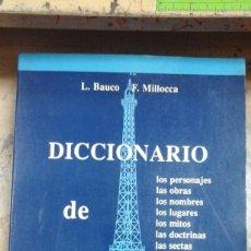 Libros de segunda mano: DICCIONARIO DE EL PÉNDULO DE FOUCAULT (MADRID, 1990). Lote 243887480