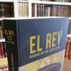 Libros de segunda mano: 2020 - CARLES FREIXAY CÉSAR ANDRADE (KING MANABA) - EL REY. DIARIO DE UN LATIN KING - DEDICADO. Lote 244574085