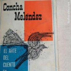 Libros de segunda mano: EL ARTE DEL CUENTO EN PUERTO RICO. - MELÉNDEZ, CONCHA.-LAS AMERICAS 1961 395PP. Lote 244666645