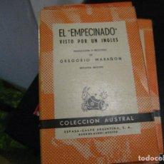 Libros de segunda mano: EL EMPECINADO VISTO POR UN INGLES (MADRID, 1958) AUSTRAL Nº 360. Lote 246022305