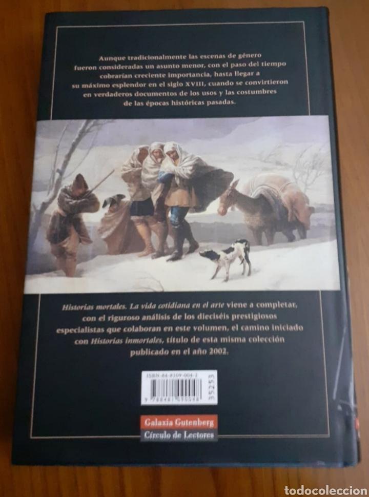 Libros de segunda mano: Historias mortales. Galaxia Gutemberg. - Foto 3 - 246136180