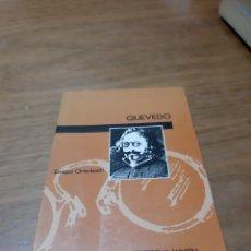 Libros de segunda mano: ORTENBACH ENRIQUE, QUEVEDO, LUMEN, BARCELONA, 1991. Lote 246187040