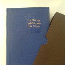 Libros de segunda mano: CIENCIA DEL LENGUAJE Y ARTE DEL ESTILO. MARTIN ALONSO. AGUILAR. 1947.. Lote 246487580