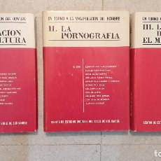 Libros de segunda mano: EN TORNO A LA MANIPULACION DEL HOMBRE, 3 TOMOS, ED CENTRO SOCIAL VALLE CAIDOS. Lote 123542519