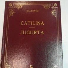 Livros em segunda mão: SALUSTIO CATILINA/JUGURTA SA3489. Lote 251546220
