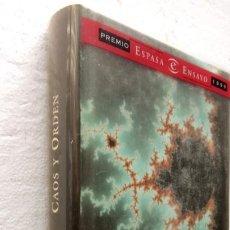 Libros de segunda mano: PLI - CAOS Y ORDEN - ANTONIO ESCOHOTADO - ESPASA. Lote 252392340