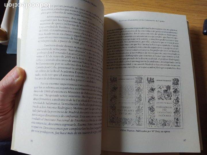 Libros de segunda mano: Escritores extremeños en los cementerios de España, Ricardo Hernandez, Ed. Beturia, 2004 - Foto 7 - 252425375