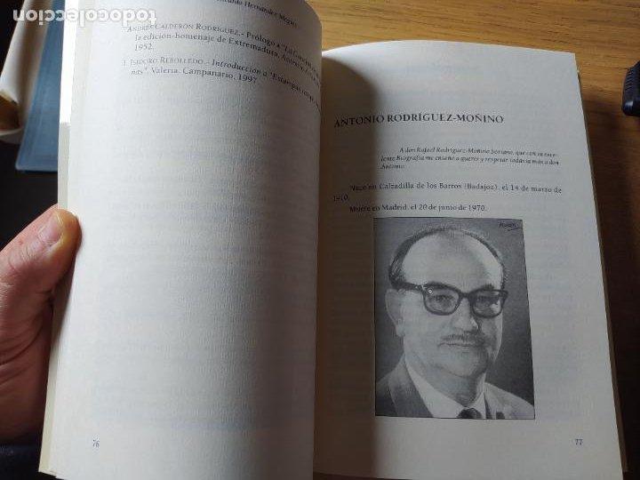 Libros de segunda mano: Escritores extremeños en los cementerios de España, Ricardo Hernandez, Ed. Beturia, 2004 - Foto 8 - 252425375