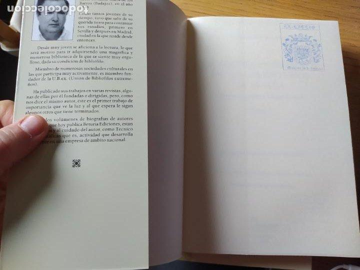 Libros de segunda mano: Escritores extremeños en los cementerios de España, Ricardo Hernandez, Ed. Beturia, 2004 - Foto 11 - 252425375