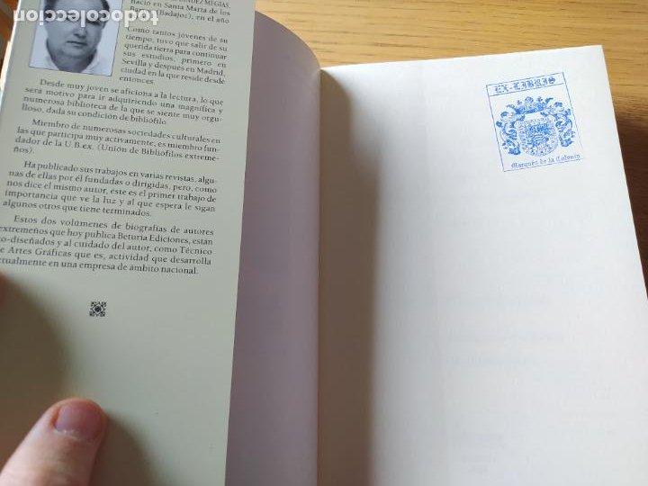 Libros de segunda mano: Escritores extremeños en los cementerios de España, Ricardo Hernandez, Ed. Beturia, 2004 - Foto 13 - 252425375