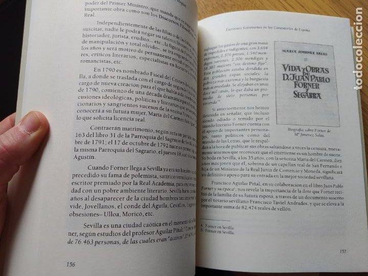 Libros de segunda mano: Escritores extremeños en los cementerios de España, Ricardo Hernandez, Ed. Beturia, 2004 - Foto 15 - 252425375