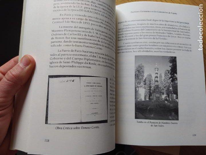 Libros de segunda mano: Escritores extremeños en los cementerios de España, Ricardo Hernandez, Ed. Beturia, 2004 - Foto 17 - 252425375