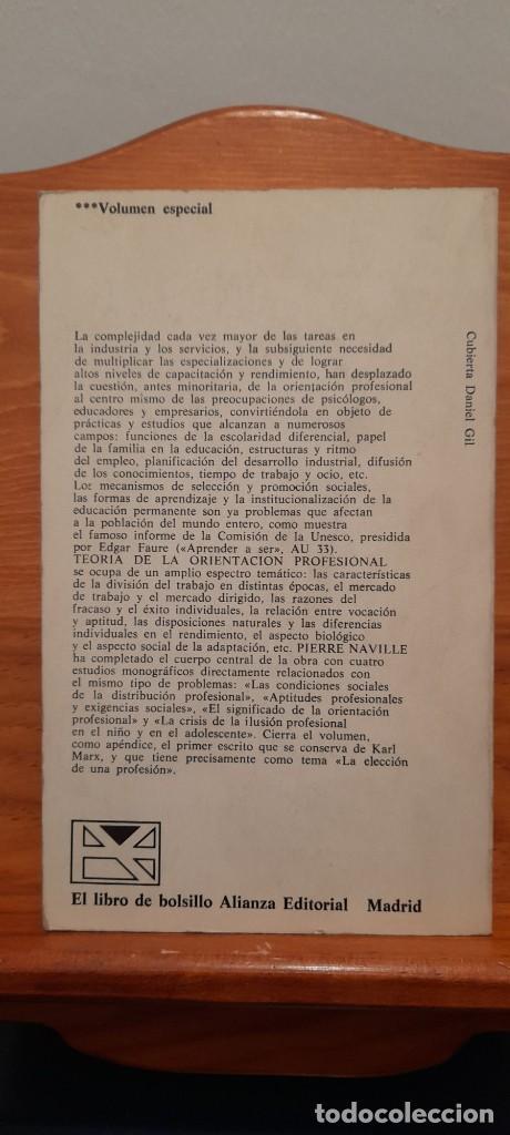 Libros de segunda mano: TEORIA DE LA ORIENTACION PROFESIONAL - Foto 4 - 254456300