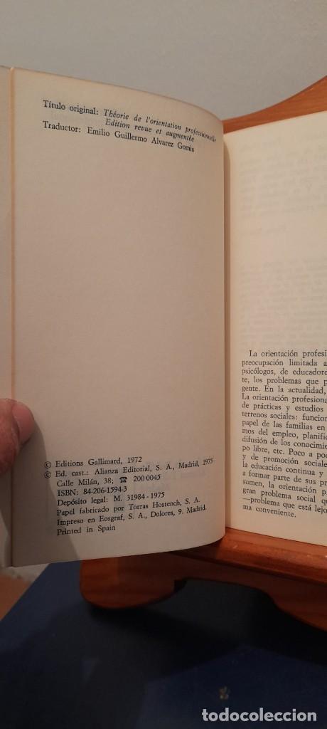 Libros de segunda mano: TEORIA DE LA ORIENTACION PROFESIONAL - Foto 8 - 254456300