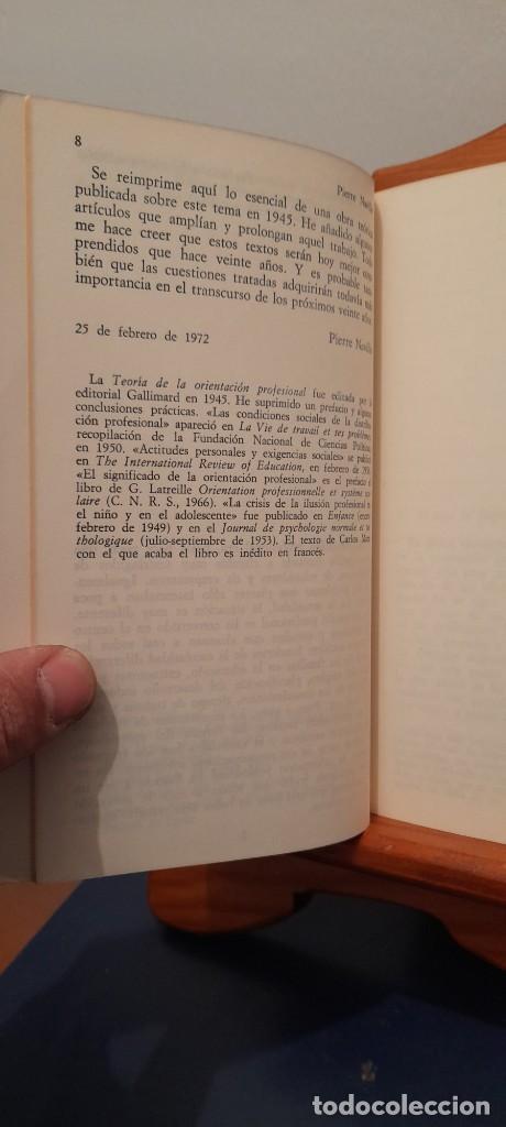 Libros de segunda mano: TEORIA DE LA ORIENTACION PROFESIONAL - Foto 10 - 254456300