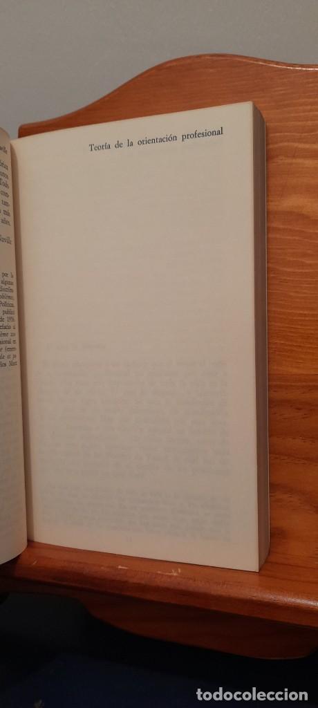 Libros de segunda mano: TEORIA DE LA ORIENTACION PROFESIONAL - Foto 11 - 254456300