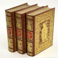 Libros de segunda mano: LAS CONFESIONES DE SAN AGUSTÍN, 1983, EDICIONES ANTIGUAS, 3 TOMOS, MADRID. 21X16CM. Lote 254710830