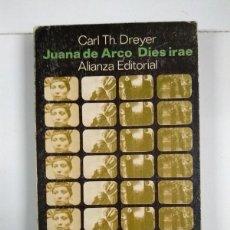Libros de segunda mano: JUANA DE ARCO DIES IRAE - CARL TH. DREYER. Lote 255022510