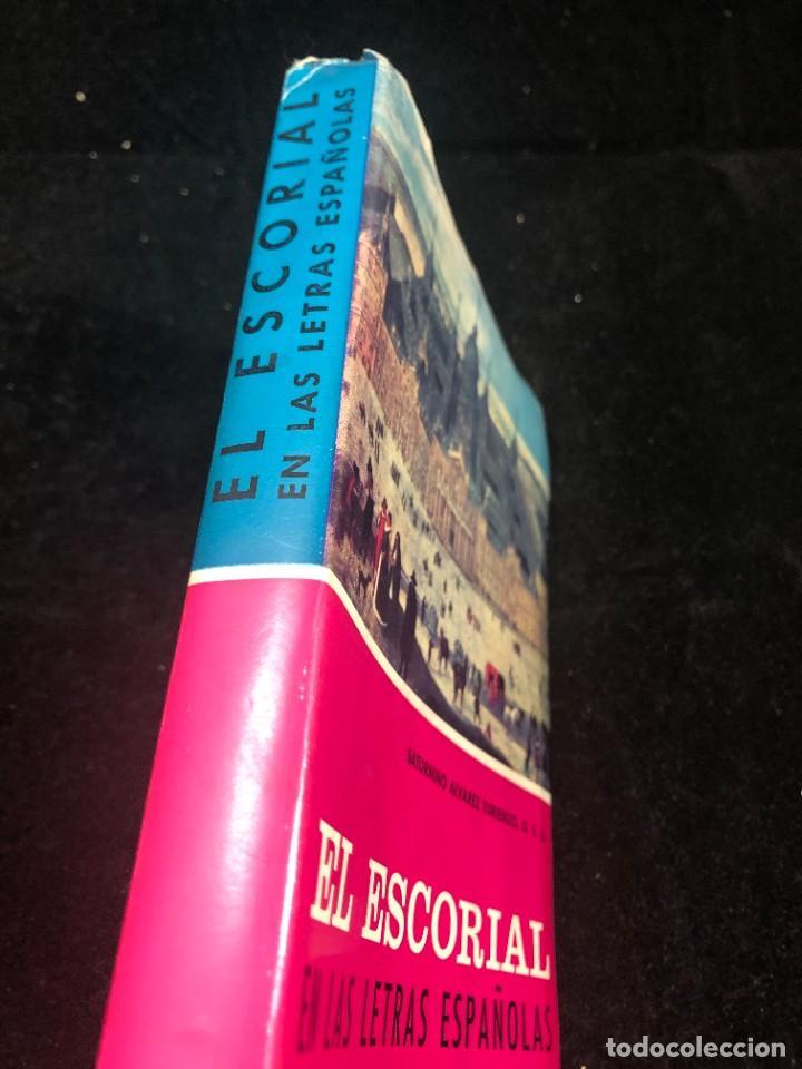 Libros de segunda mano: EL ESCORIAL EN LAS LETRAS ESPAÑOLAS. SATURNINO ALVAREZ TURIENZO. ARTE. MADRID 1963 - Foto 2 - 261364925