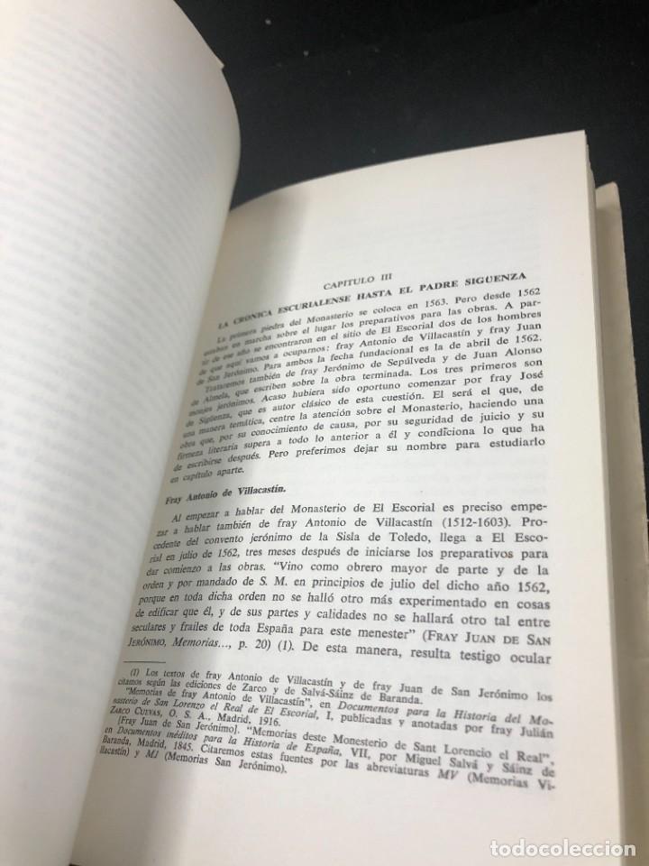 Libros de segunda mano: EL ESCORIAL EN LAS LETRAS ESPAÑOLAS. SATURNINO ALVAREZ TURIENZO. ARTE. MADRID 1963 - Foto 8 - 261364925