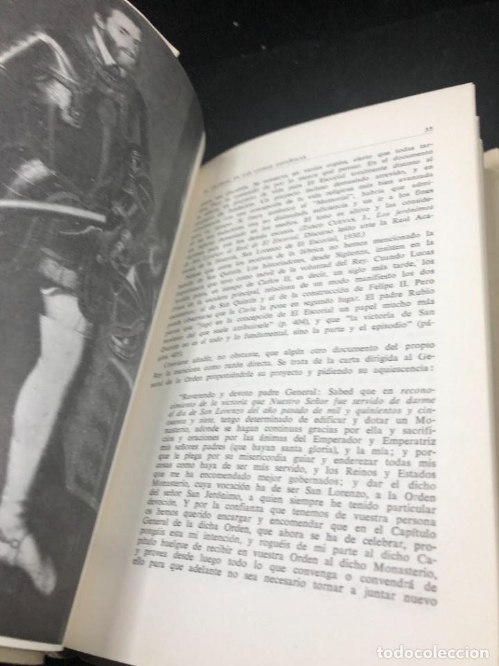 Libros de segunda mano: EL ESCORIAL EN LAS LETRAS ESPAÑOLAS. SATURNINO ALVAREZ TURIENZO. ARTE. MADRID 1963 - Foto 9 - 261364925