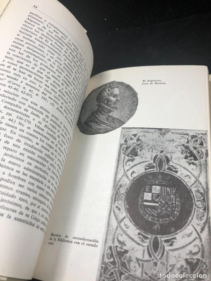 Libros de segunda mano: EL ESCORIAL EN LAS LETRAS ESPAÑOLAS. SATURNINO ALVAREZ TURIENZO. ARTE. MADRID 1963 - Foto 10 - 261364925