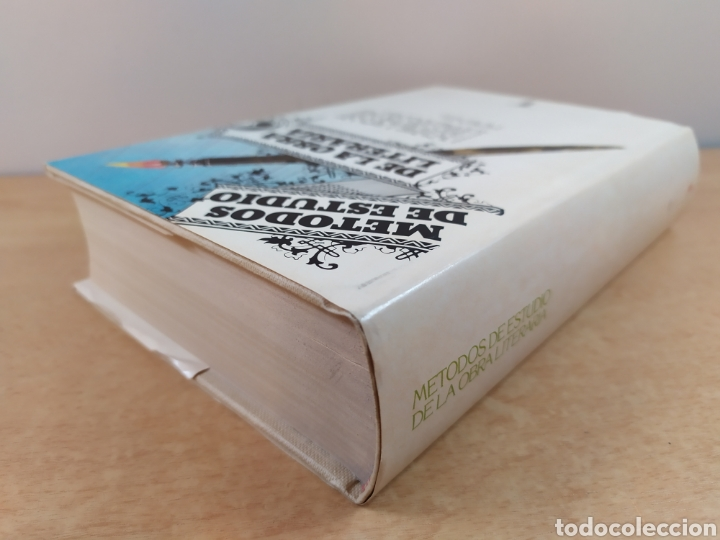 Libros de segunda mano: METODOS DE ESTUDIO DE LA OBRA LITERARIA / VV.AA. / TAURUS. 1985 - Foto 8 - 261587700