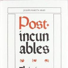 Libros de segunda mano: POST-INCUNABLES IBERICOS. + ADENDA. JULIÁN MARTÍN ABAD. 2 VOLS. . OLLERO Y RAMOS EDITORES, 2001.. Lote 262122030