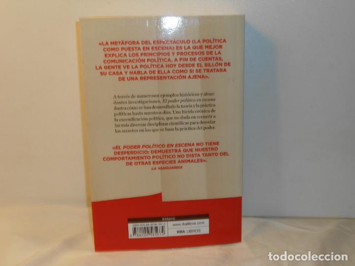 Libros de segunda mano: EL PODER POLÍTICO EN ESCENA , LUIS ARROYO - RBA - Foto 2 - 262554700