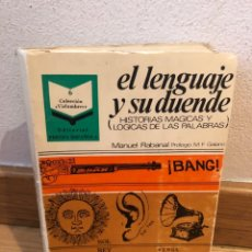 Libros de segunda mano: EL LENGUAJE Y SU DUENDE MANUEL RABANAL. Lote 262576120