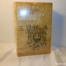Libros de segunda mano: HISTORIA DE LA LITERATURA , ÉPOCA BARROCA , JUAN LUIS ALBORG - GREDOS (PRECINTADO. Lote 262756380