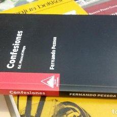 Libros de segunda mano: 2018 - FERNANDO PESSOA - CONFESIONES. Lote 263025030