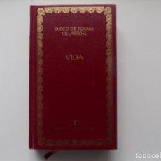 Libros de segunda mano: LIBRERIA GHOTICA. DIEGO DE TORRES VILLARROEL. VIDA. BIBLIOTECA CLASICA CASTALIA.2001.. Lote 263173905