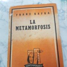 Libros de segunda mano: LA METAMORFOSIS KAFKA. PRÓLOGO JORGE LUIS BORGES. Lote 264998739