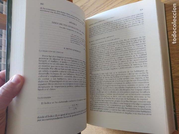 Libros de segunda mano: Actas del Congreso de la Lengua Española, Sevilla, 1992. ed. Pabellon de España, RARO - Foto 4 - 267034469