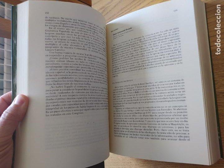 Libros de segunda mano: Actas del Congreso de la Lengua Española, Sevilla, 1992. ed. Pabellon de España, RARO - Foto 5 - 267034469