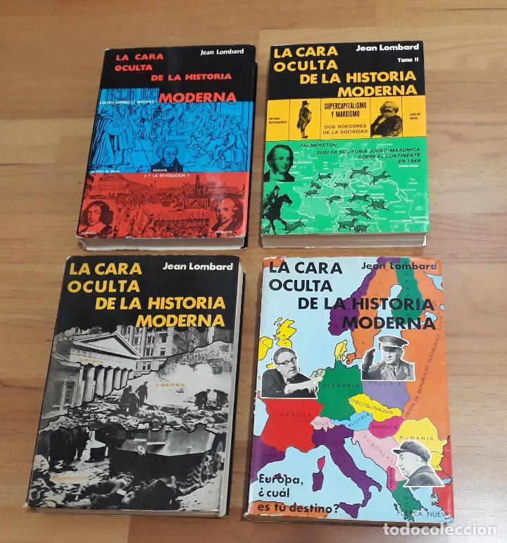 CARA OCULTA HISTORIA MODERNA, TOMOS I, II, III Y IV. COLECCIÓN COMPLETA (Libros de Segunda Mano (posteriores a 1936) - Literatura - Ensayo)