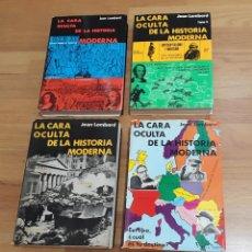 Libros de segunda mano: CARA OCULTA HISTORIA MODERNA, TOMOS I, II, III Y IV. COLECCIÓN COMPLETA. Lote 248351195
