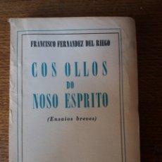 Libros de segunda mano: COS OLLOS DO NOSO ESPRITO (AÑO 1949). Lote 268313329