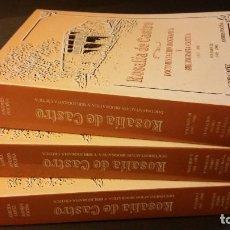 Libros de segunda mano: ROSALÍA DE CASTRO. DOCUMENTACIÓN BIOGRÁFICA Y BIBLIOGRAFÍA CRÍTICA (1837-1990). 3 TOMOS (COMPLETO). Lote 268433459