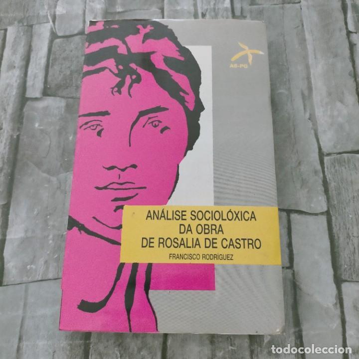 ROSALIA DE CASTRO ANALISE SOCIOLOXICA DA OBRA DE ROSALIA DE CASTRO FRANCISCO RODRIGUEZ (Libros de Segunda Mano (posteriores a 1936) - Literatura - Ensayo)