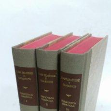 Libros de segunda mano: 1997 -SEMPERE ENSAYO DE UNA BIBLIOTECA ESPAÑOLA DE LOS MEJORES ESCRITORES DEL REINADO DE CARLOS III. Lote 269311938