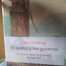 Libros de segunda mano: EL QUESO Y LOS GUSANOS. CARLO GINZBURG. Lote 270209073