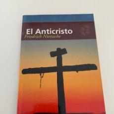 Libros de segunda mano: ANTICRISTO PLUTON EDICIONES FRIEDRICH NIETZSCHE. Lote 271053608