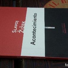 Libros de segunda mano: 2021 - SLAVOJ ZIZEK - ACONTECIMIENTO - SEXTO PISO. Lote 271832008