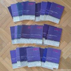 Libros de segunda mano: CUADERNOS DE ESTUDIO. SERIE LITERATURA. EDITORIAL CINCEL. 32 LIBROS. (HISTORIA LITERATURA ESPAÑOLA). Lote 273399278