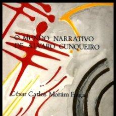 Libros de segunda mano: O MUNDO NARRATIVO DE ALVARO CUNQUEIRO.. Lote 275934268
