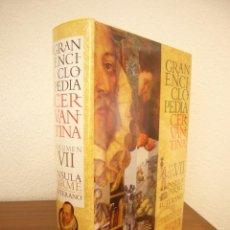 Libros de segunda mano: GRAN ENCICLOPEDIA CERVANTINA, TOMO VII: ÍNSULA FIRME-LUTERANO (CASTALIA, 2006) PRECINTADO. Lote 277265378