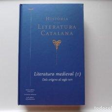 Libros de segunda mano: LIBRERIA GHOTICA. ALEX BROCH. HISTÒRIA DE LA LITERATURA MEDIEVAL. 2013.FOLIO MENOR.. Lote 277834363